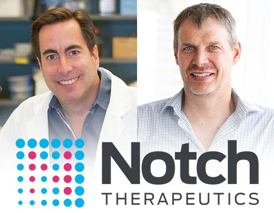 Dr. Peter Zandstra co-founds biotech company Notch Therapeutics